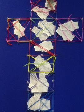 Messy Church Prayer Cross