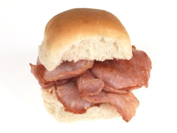 Bacon Butties for Break fast