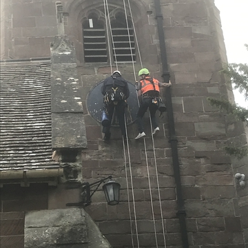 St. Peter's Clock Restoration